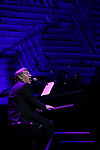 Stephen Schwartz performing at the Dramatists Guild Foundation toast to Stephen Schwartz with a 70th Birthday Celebration Concert at The Hudson Theatre on April 23, 2018 in New York City.