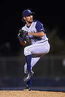Brooklyn Cyclones pitcher Nicco Blank (22) delivers a pitch during the second game of a doubleheader against the Connecticut Tigers on September 2, 2015 at Senator Thomas J. Dodd Memorial Stadium in Norwich, Connecticut.  Connecticut defeated Brooklyn 2-1.  (Mike Janes/Four Seam Images)