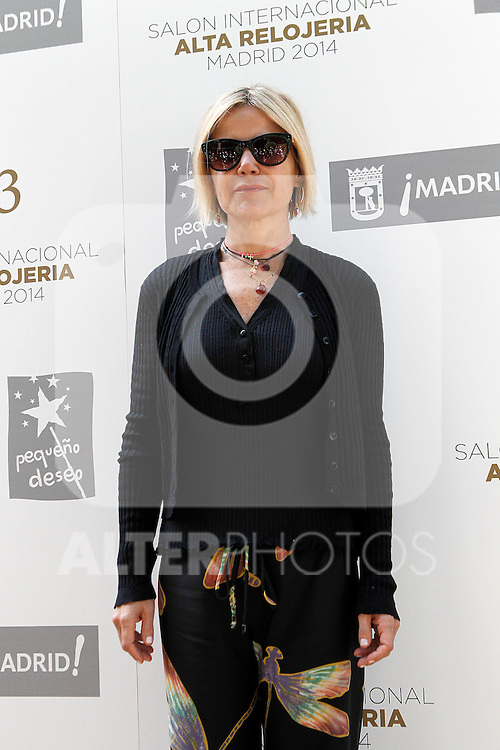 Inauguracion del I Salon Internacional Alta Relogeria de Madrid.Eugenia Martinez de Irujo.(ALTERPHOTOS/Acero)