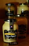 PARIS - FRANCE - 15 APRIL 2004--The mustard shop Maille at Place de la Madeleine. A selection of the products for sale-- PHOTO: ERIK LUNTANG / EUP-IMAGES