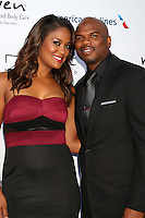PACIFIC PALISADES, CA - JULY16: Laila Ali, Curtis Conway at the 18th Annual DesignCare Gala on July 16, 2016 in Pacific Palisades, California. Credit: David Edwards/MediaPunch