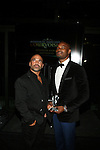 JOE GORGA AND TYSON BECKFORD AT COURVOISIER'S EXCEPTIONAL JOURNEY LAUNCH EVENT HOSTED BY CHEF ROBLE HELD AT  THE SKYLARK