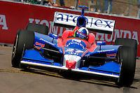 Honda Grand Prix of St. Petersburg, 3 April, 2005.Dario Franchitti.Copyright©F.Peirce Williams 2005.  ref.Digital Image Only
