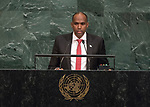 72 General Debate – 22 September <br /> <br /> by His Excellency Hassan Ali Khayre, Prime Minister of the Federal Republic of Somalia