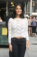 NEW YORK CITY, NY - August 20, 2012: Olivia Munn at The Ed Sullivan Theater for an appearance on Late Show With David Letterman in New York City. © RW/MediaPunch Inc. /NortePhoto.com<br />