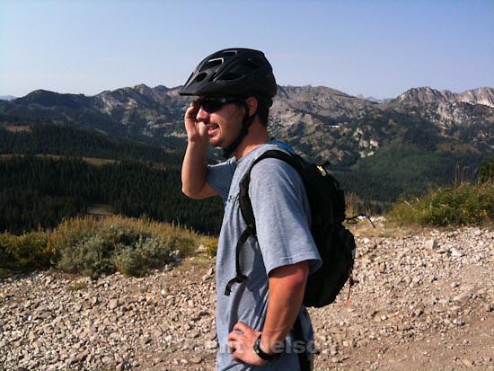 Wasatch Crest mountain biking. Sunday, August 30 2009.patrick smith