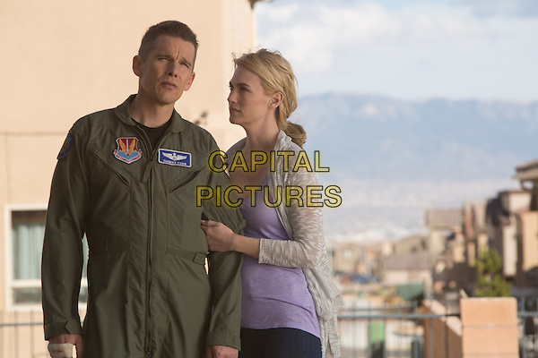 Ethan Hawke, January Jones<br /> in Good Kill (2014) <br /> *Filmstill - Editorial Use Only*<br /> CAP/FB<br /> Image supplied by Capital Pictures