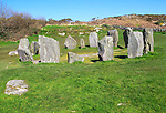 Drombeg stone circle site, County Cork, Ireland, Irish Republic