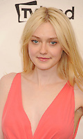 LOS ANGELES, CA - JUNE 07: Dakota Fanning arrives at the 40th AFI Life Achievement Award honoring Shirley MacLaine at Sony Pictures Studios on June 7, 2012 in Los Angeles, California. /NortePhoto.com<br />