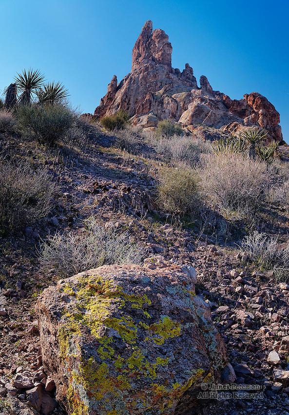 Needle Peak, Black Mountains, Arizona