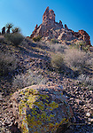 Needle Peak, Black Mountains, Arizona