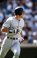 Paul O'Neill of the New York Yankees during a game against the Anaheim Angels circa 1999 at Angel Stadium in Anaheim, California. (Larry Goren/Four Seam Images)