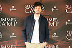 """Spanish actor and model Andres Velencoso during the presentation of the film """"Summer Camp"""" at Cines Paz in Madrid. June 06. 2016. (ALTERPHOTOS/Borja B.Hojas)"""