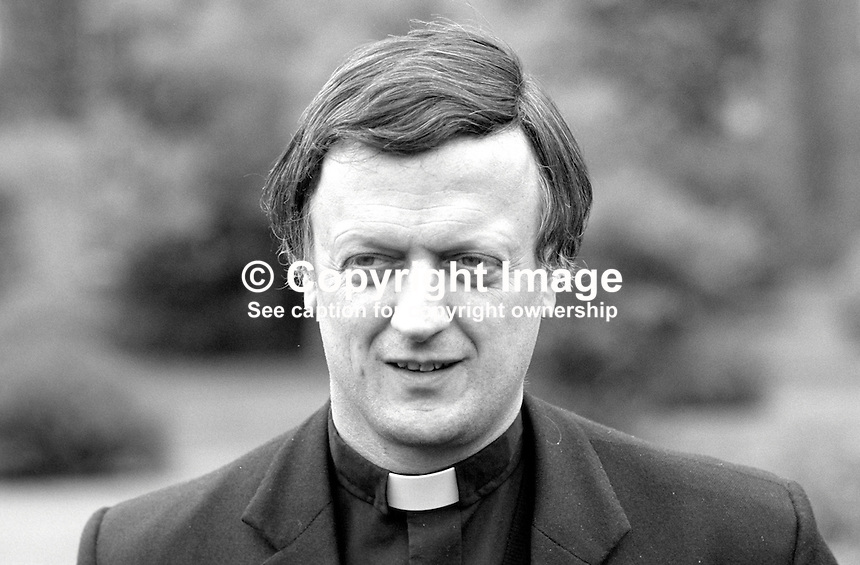 Monsignor Michael Ledworth, president, Maynooth College, Irish Roman Catholic Seminary, Ireland, 19870612ML..Copyright Image from Victor Patterson, 54 Dorchester Park, Belfast, UK, BT9 6RJ..Tel: +44 28 9066 1296.Mob: +44 7802 353836.Voicemail +44 20 8816 7153.Skype: victorpattersonbelfast.Email: victorpatterson@me.com.Email: victorpatterson@ireland.com (back-up)..IMPORTANT: If you wish to use this image or any other of my images please go to www.victorpatterson.com and click on the Terms & Conditions. Then contact me by email or phone with the reference number(s) of the image(s) concerned.
