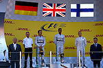 Vladimir Poutine (RUS), Russian President - Lewis Hamilton (GBR), Mercedes GP - Nico Rosberg (GER), Mercedes GP - Valtteri Bottas (FIN), Williams F1 Team<br /> for the complete Middle East, Austria & Germany Media usage only!<br />  Foto © nph / Mathis