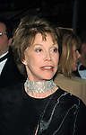 Mary Tyler Moore at the opening night of THE PRODUCERS at the St. James Theatre in New York City. April 19, 2001.