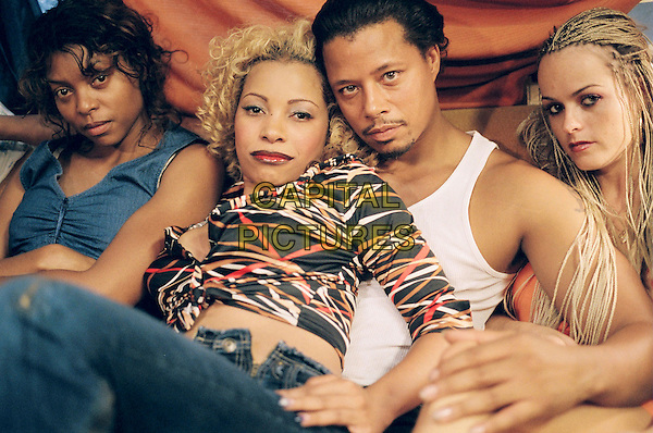 TARAJI HENSON, PAULA JAI, TERRENCE HOWARD & TARYN MANNING.in Hustle & Flow.*Editorial Use Only*.www.capitalpictures.com.sales@capitalpictures.com.Supplied by Capital Pictures.