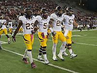 October 13th, 2012: California Bears vs Washington State Cougars at Martin Stadium in Pullman, Wa    California defeated Washington State 31 - 17
