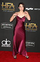 BEVERLY HILLS, CA - NOVEMBER 5: Tatiana Maslany, at The 21st Annual Hollywood Film Awards at the The Beverly Hilton Hotel in Beverly Hills, California on November 5, 2017. Credit: Faye Sadou/MediaPunch