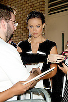 NEW YORK, NY - SEPTEMBER 11: Olivia Wilde at Live Kelly &amp; Michael to talk about her work with &quot;The Half Sky Movement: Turning Oppression into Opportunity for Women Worldwide,&quot; the PBS documentary series which premeires October 1 and 2 and her new movie 'The Word'. New York City. September 11, 2012. &copy; RW/MediaPunch Inc. /NortePhoto.com<br />
