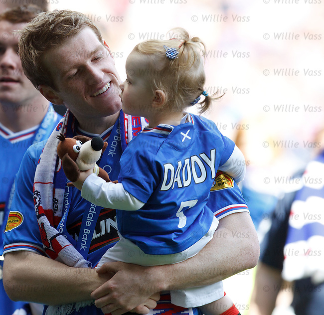 Steven Davis and doting daughter