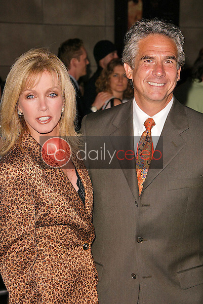 Donna Mills and Husband