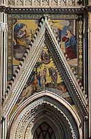Italien, Umbrien, Dom von Ovieto, 13.-17.Jh.