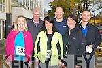 MINI-MARATHON: Competing in the Mini-Marathon i aid of Fit4Life at the Brandon hotel, Tralee on Sunday l-r: Linda Lowth, Dermot Dillane, Elaine Ryall, Tom Brendan O'Sullivan, Mary Dillane and Seamus Falvey.