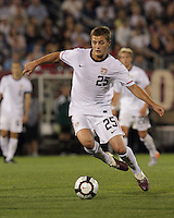 USA midfielder Robbie Rogers (25). In the Send Off Series, the Czech Republic defeated the US men's national team, 4-2, at Rentschler Field in East Hartford, Connecticut, on May 25, 2010.