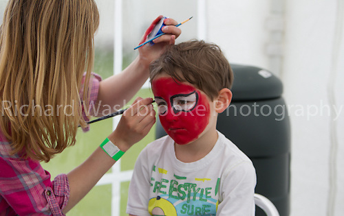 Festival on the field, Sir John Lawes School, Harpenden.  23rd June 2012
