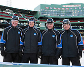 - The University of Massachusetts Boston Beacons defeated the Salem State University Vikings 4-2 (EN) on Tuesday, January 7, 2014, at Fenway Park in Boston, Massachusetts.