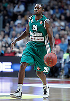 Zalgiris Kaunas' Oliver Lafayette during Euroleague 2012/2013 match.January 11,2013. (ALTERPHOTOS/Acero) /NortePhoto