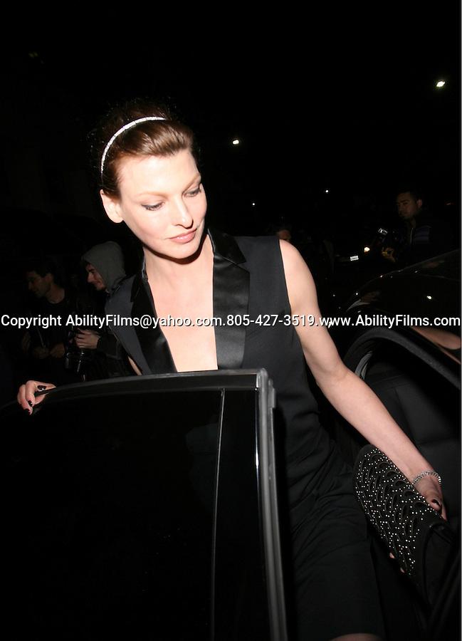 .Feb 23rd 2012 ...Super model Linda Evangelista at Mr,Chow in Beverly Hills..AbilityFilms@yahoo.com.805-427-3519.www.AbilityFilms.com