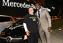 Local hero Vickie Leleu is all smiles after New Orleans Saints Wide Receiver, Brandin Cooks surprises her with a special delivery at the Mercedes-Benz Superdome on November 23, 2015.