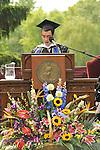 Vassar College Senior Class President, Luis Gabriel Hoyos speaking at Vassar's 2009 Commencement.
