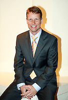 4-4-07, England, Birmingham, Tennis, Daviscup England-Netherlands, captain Jan Siemerink
