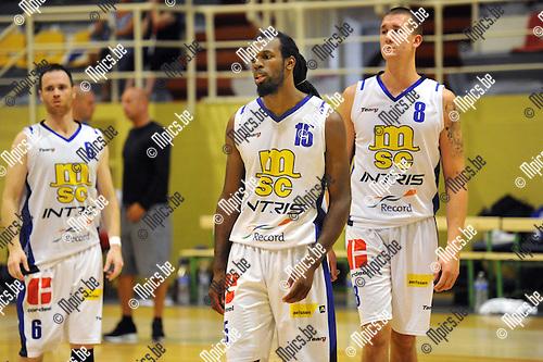 2013-08-18 / Basketbal / seizoen 2013-2014 / Sint-Jan Antwerpen / Mario Brown<br /><br />Foto: Mpics.be