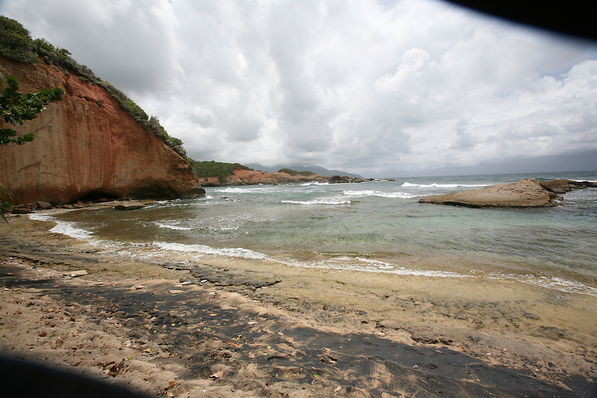 Scenes of Pointe Baptiste Beach, near Calibishe Dominica
