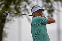 Ian Poulter (GBR) watches his tee shot on 12 during day 2 of the WGC Dell Match Play, at the Austin Country Club, Austin, Texas, USA. 3/28/2019.<br /> Picture: Golffile | Ken Murray<br /> <br /> <br /> All photo usage must carry mandatory copyright credit (© Golffile | Ken Murray)