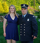 Middlebury, CT-051819MK27 Nick Desmaris and Sarah Cavallaro gathered for a fundraiser to benefit the Middlebury Emergency Fund and the fire department at the Vyne Restaurant in Middlebury Saturday evening. Michael Kabelka / Republican-American