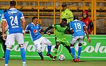 La Equidad igualó 1-1 ante Millonarios. Cuartos de final ida Liga Águila II-2017.