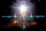 24.02.2019, SAP Arena, Mannheim<br /> Volleyball, DVV-Pokal Finale, Siegerehrung<br /> <br /> Pokalsieger 2019 - SSC Palmberg Schwerin (Frauen) / VfB Friedrichshafen (Männer) - aufgenommen mit der Remote Kamera<br /> <br />   Foto © nordphoto / Kurth