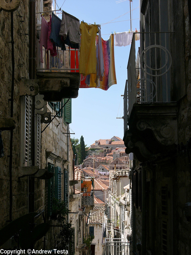 CROATIA. Dubrovnik. August 2004..Dubrovnik Old Town..©Andrew Testa for the New York Times