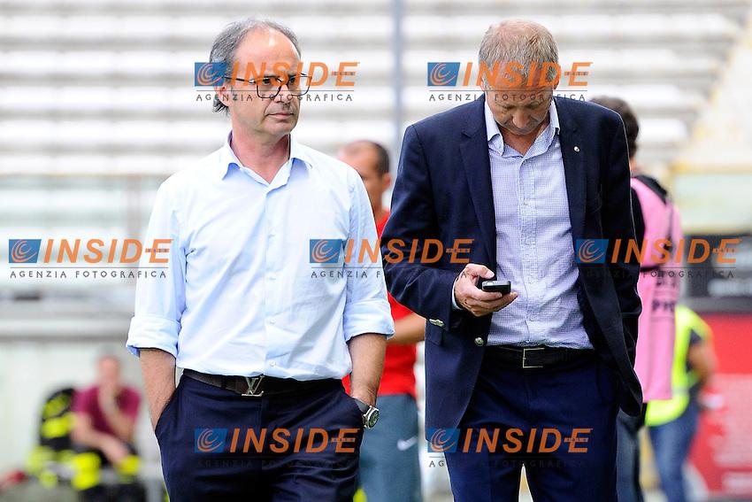 Luis Campos, Vadim Vasiley vicepresidente Monaco<br /> Parma 28-07-2014 Stadio Tardini - Football Calcio Amichevole. Pre season training. Parma - Monaco Foto Giuseppe Celeste / Insidefoto