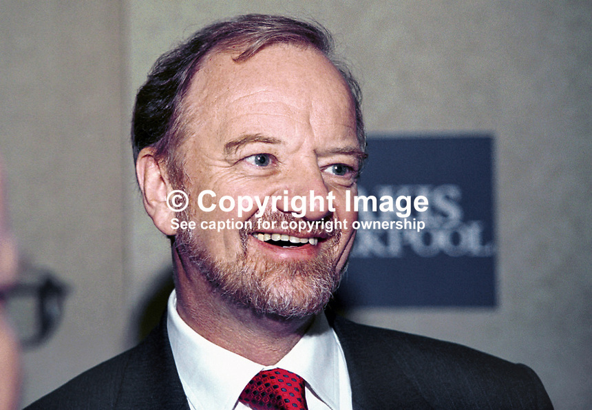 Robin Cook, Labour MP, Foreign Secretary, Taken at Labour Party Annual Conference. Ref: 199810266<br /> <br /> Copyright Image from Victor Patterson,<br /> 54 Dorchester Park, <br /> Belfast, UK, BT9 <br /> <br /> t1: +44 28 9066 1296 (from Rep of Ireland 048 90661296)<br /> t2: +44 28 9002 2446 (from Rep of Ireland 048 9002 2446)<br /> <br /> m: +44 7802 353836<br /> <br /> e: victorpatterson@me.com<br /> www.victorpatterson.com<br /> <br /> Please see my Terms and Conditions of Use at www.victorpatterson.com. It is IMPORTANT that you familiarise yourself with them.<br /> <br /> Images used on the Internet must be visibly watermarked i.e. &copy; Victor Patterson<br /> within the body of the image and copyright metadata must not be deleted. Images <br /> used on the Internet have a size restriction of 4kbs and will be chargeable at current<br />  NUJ rates unless agreed otherwise.<br /> <br /> This image is only available for the use of the download recipient i.e. television station, newspaper, magazine, book publisher, etc, and must not be passed on to any third <br /> party. It is also downloaded on condition that each and every usage is notified within 7 days to victorpatterson@me.com<br /> <br /> The right of Victor Patterson to be identified as the author is asserted in accordance with The Copyright Designs And Patents Act (1988). All moral rights are asserted.