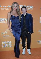 17  November 2019 - Beverly Hills, California - Gigi Gorgeous, Nats Getty. The Trevor Project's TrevorLIVE LA 2019 held at The Beverly Hilton Hotel. Photo Credit: PMA/AdMedia