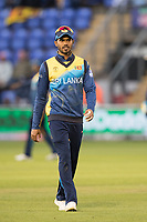 Dhananjaya de Silva (Sri Lanka) during Afghanistan vs Sri Lanka, ICC World Cup Cricket at Sophia Gardens Cardiff on 4th June 2019