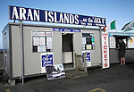 Ticket office for boats to Aran Islands, at Doolin, County Clare, Ireland