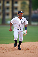 Detroit Tigers Anthony Pereira (68) during a minor league Spring Training game against the Washington Nationals on March 28, 2016 at Tigertown in Lakeland, Florida.  (Mike Janes/Four Seam Images)