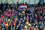 ROTTERDAM - publiek, audience,  tijdens de Pro League hockeywedstrijd dames, Nederland-USA  (7-1) .   COPYRIGHT  KOEN SUYK